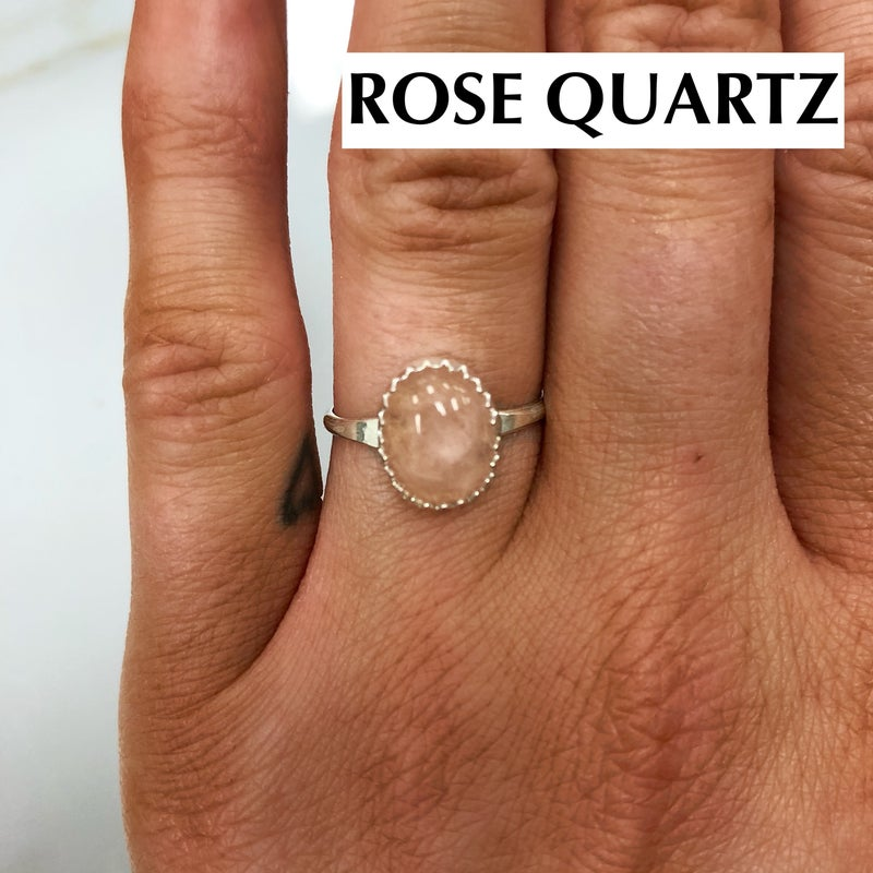 M&S Sterling Silver - Oval Ring