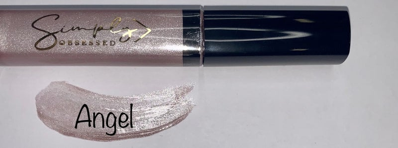 Simply Obsessed Glossy Liquid lips sparkly lipstick