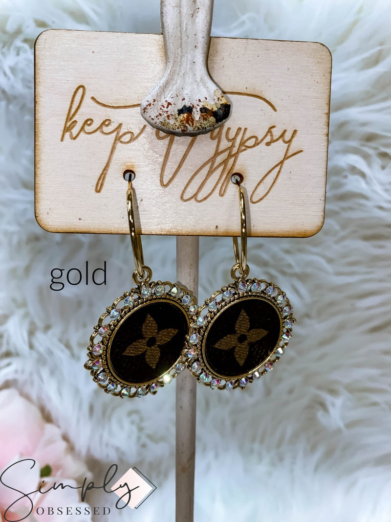 Keep It Gypsy First Dibs March Sale - Up-cycled Halo Earrings
