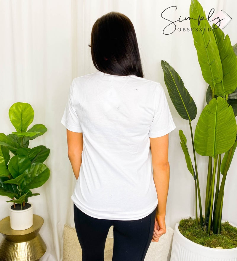 Kissed Apparel - Round Neck Short Sleeve Top