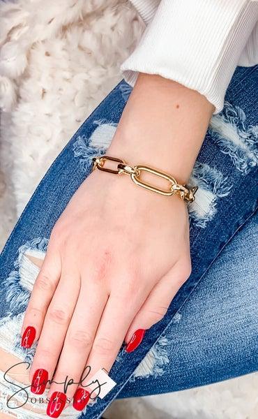 Vidda - Gold Ada Block Chain Bracelet