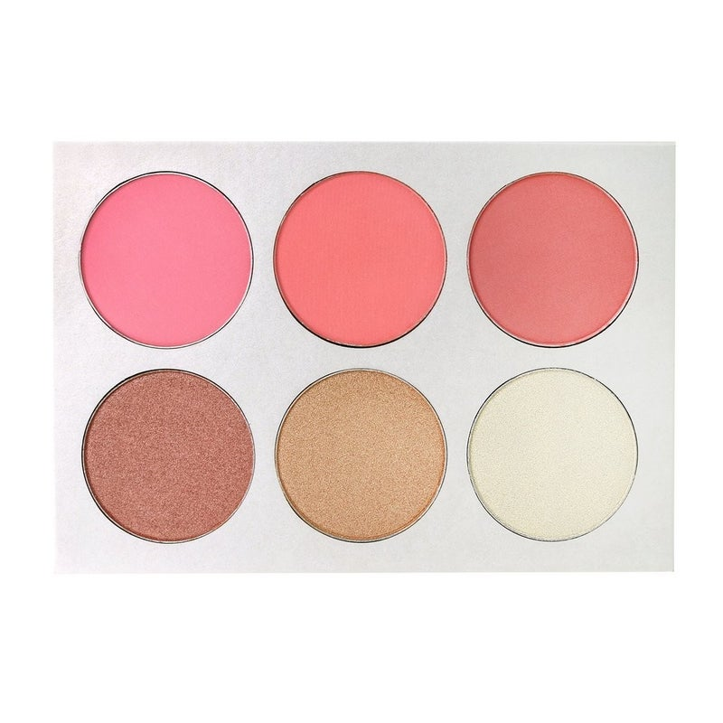 The Makeup Institute Los Angeles- Blush & Glow Palette 2-in-1