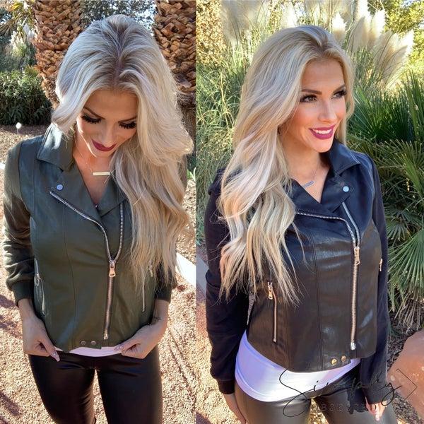 Promesa- Long sleeve zip-up jacket with pockets