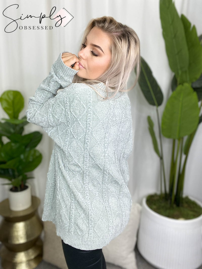 BiBi - Long sleeve soft cozy sweater top