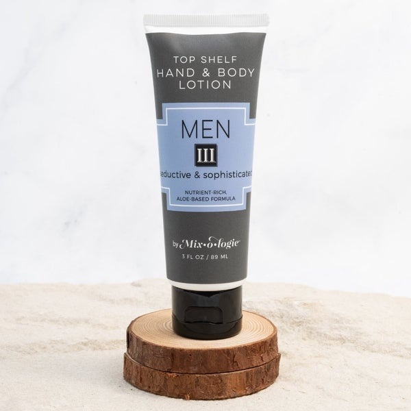 Mix-o-logie - Men's Top Shelf Lotion - III (Seductive & Sophisticated)