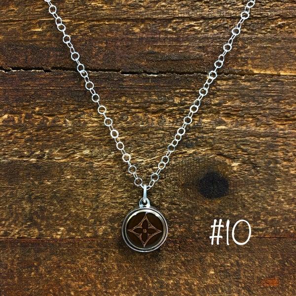 BJB - LV Button Small Pendant Necklace
