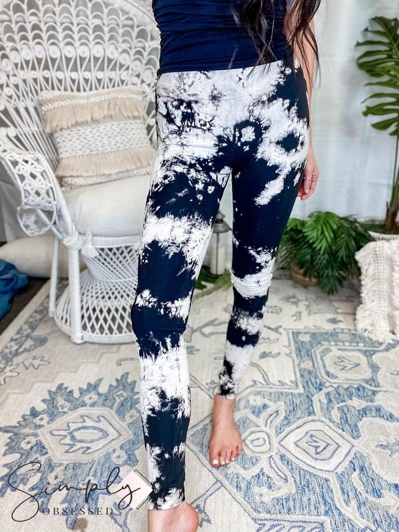 TParty - Tie Dye Athletic Foldable Legging