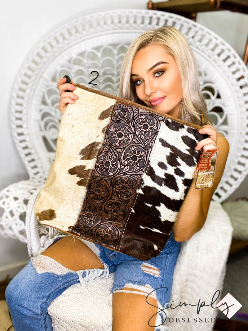 American Darling - Genuine hand crafted leather cross body bag