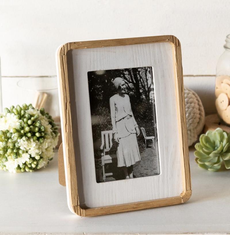 VIP ATL - Photo Frame White Wood Frame