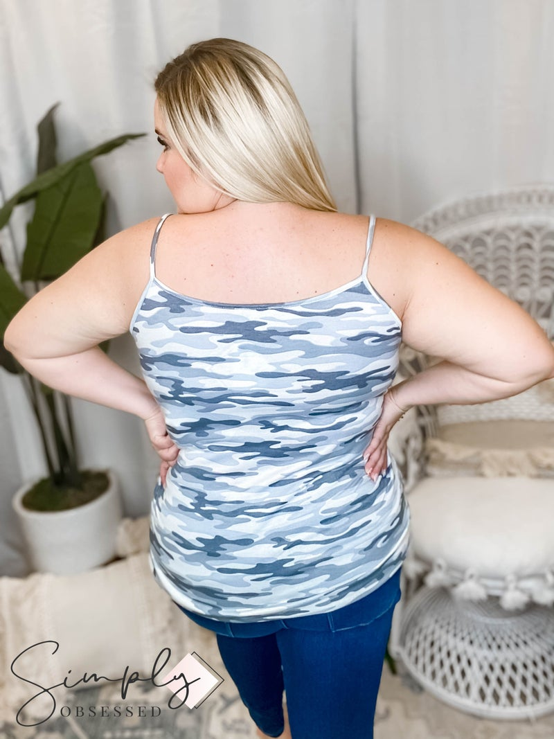 Blumin - Tank top with wide lace detail(All Sizes)