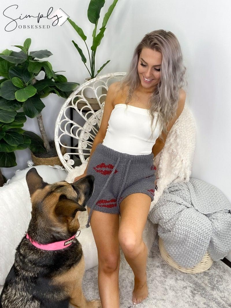Pol - Knit sweater shorts