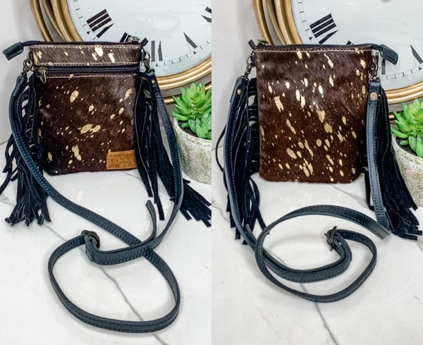 American Darling - Small Crossbody handbag with fringe