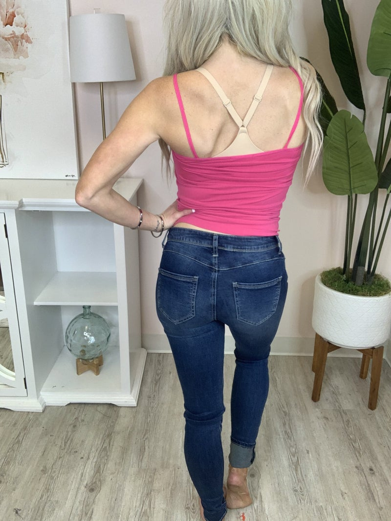 Numero- Push up mid rise skinny jean