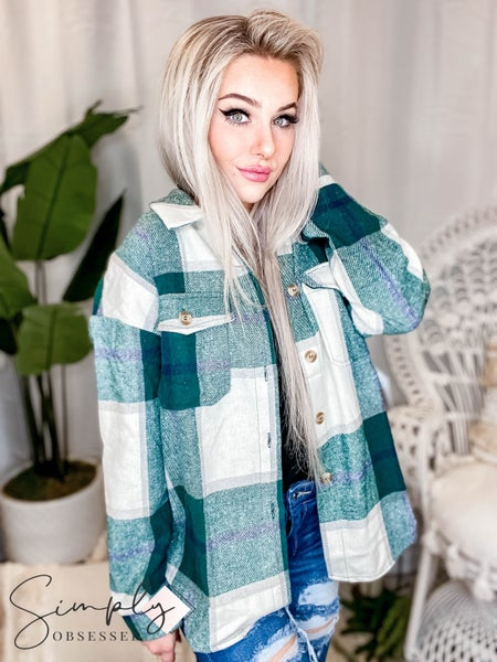 Jodifl - Plaid Button-Up Flannel