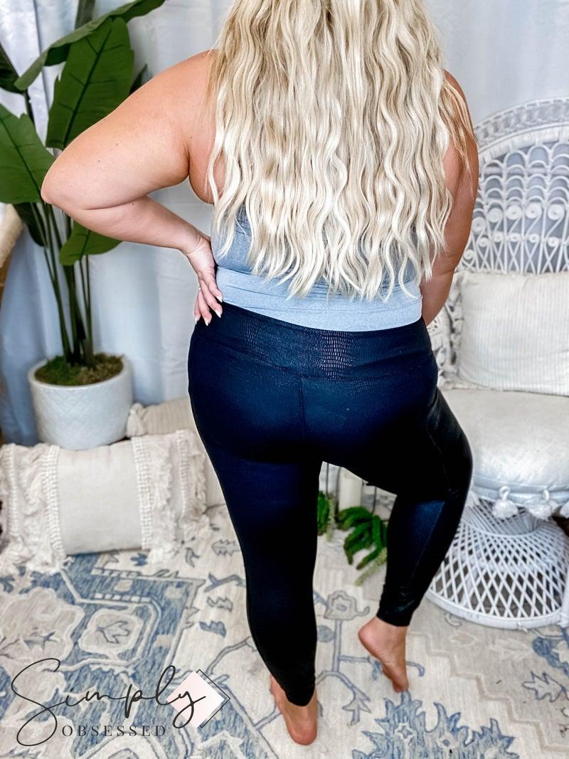 Rae Mode - Snake Chintz Leggings W/ Side Pockets