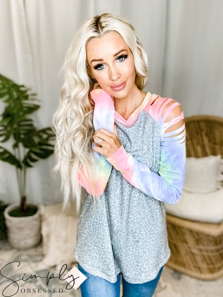 White Birch LA First Dibs - Long Sleeve Form Top