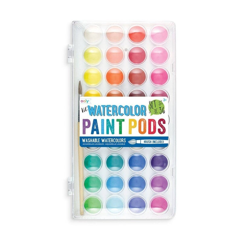 FAIRE-LIL' PAINT PODS WATERCOLOR PAINT