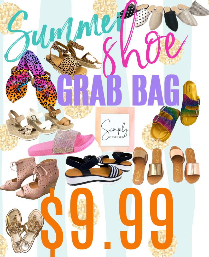 Mystery Summer Sandal Grab Bag