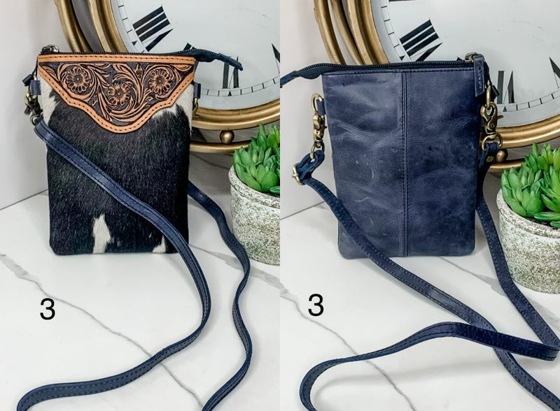 American Darling - Small wallet with leatherwork