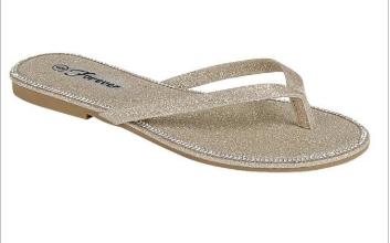Forever - Glitter detail sandals