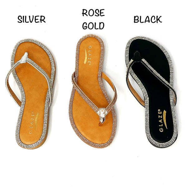 Glaze - Rhinestone Sandals