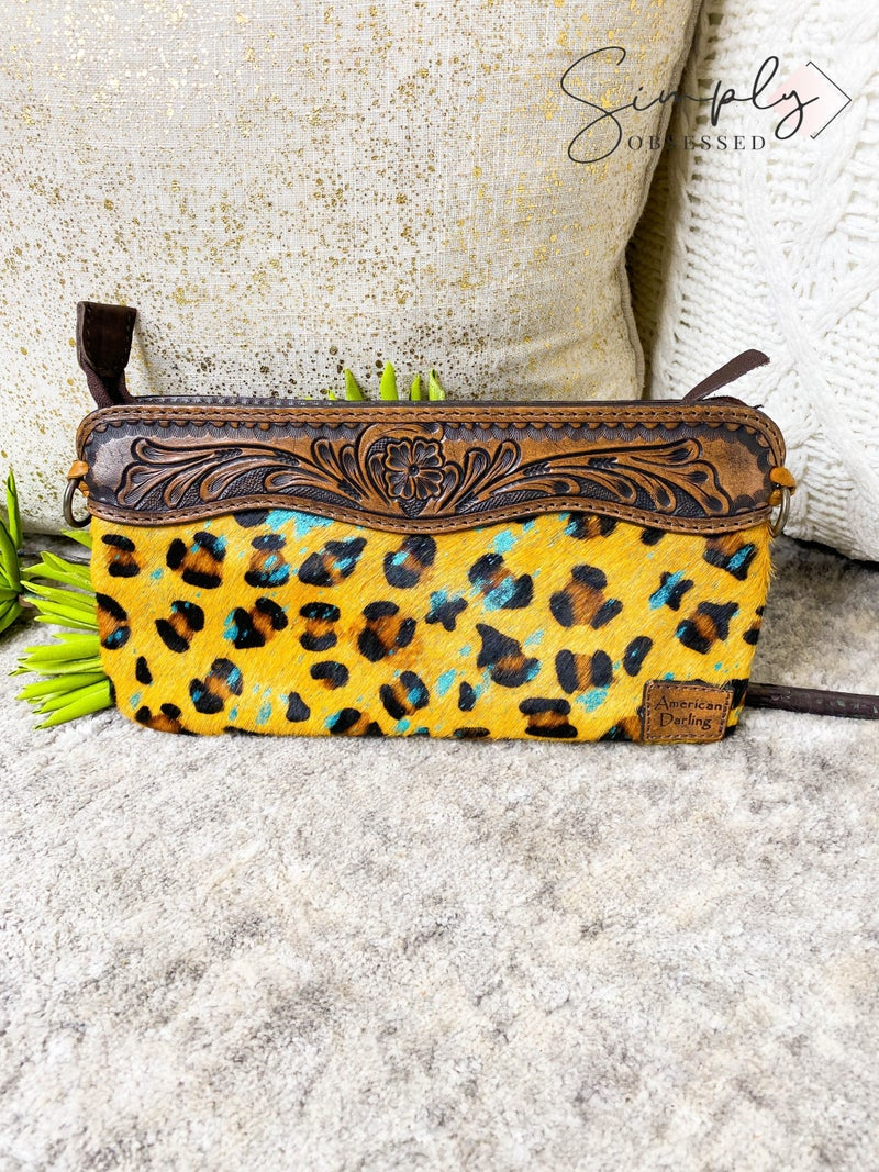 American Darling - Genuine hand crafted leather small cross body bag