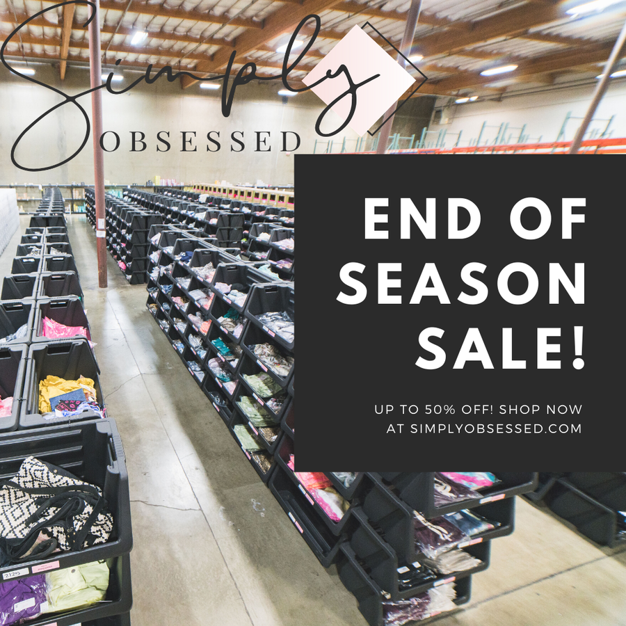 End of the Season Sale!