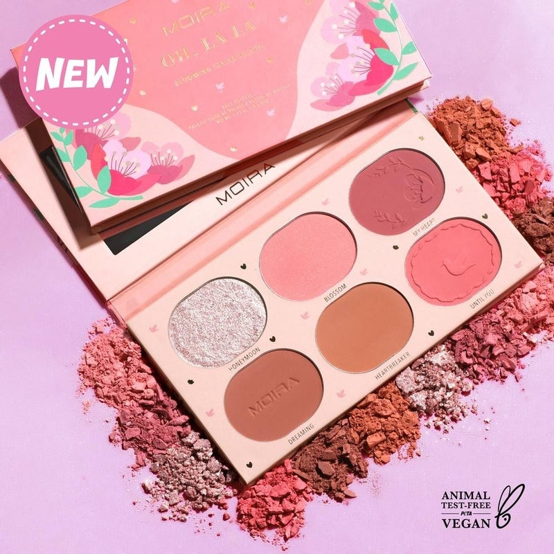 Moira - Blooming Series Pressed Pigment Palette