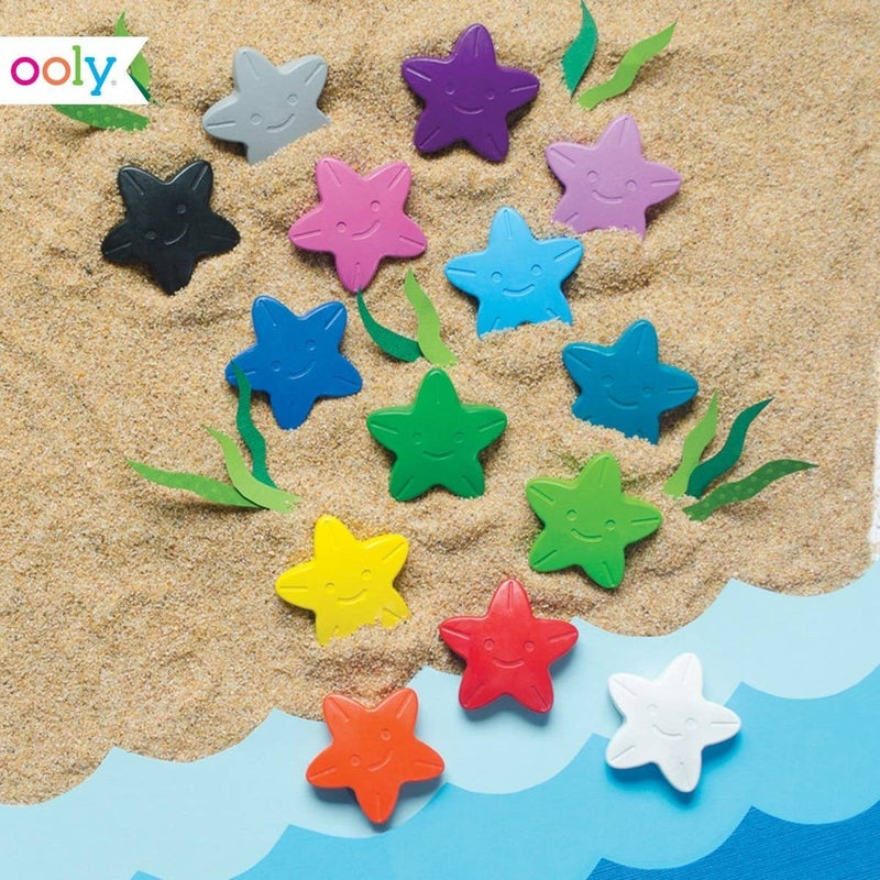 FAIRE-STARS IOF THE SEA STARFISH CRAYONS