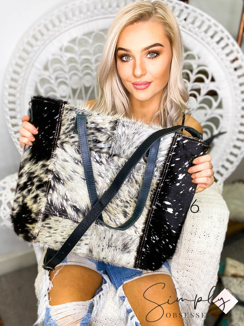 American Darling - Acid wash large cross body bag