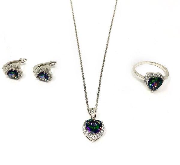 Mystic Topaz Jewelry Set