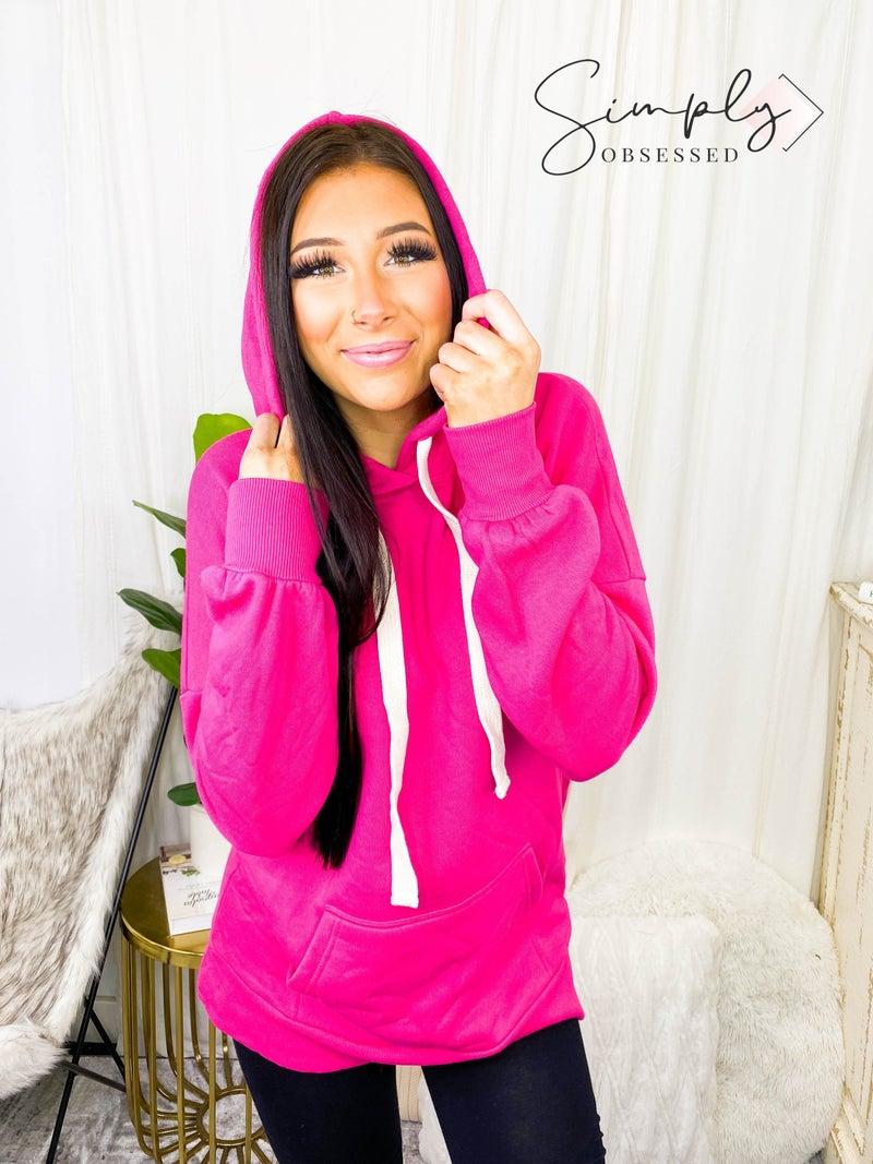 Oversized hoodie longline sweatshirt(plus)