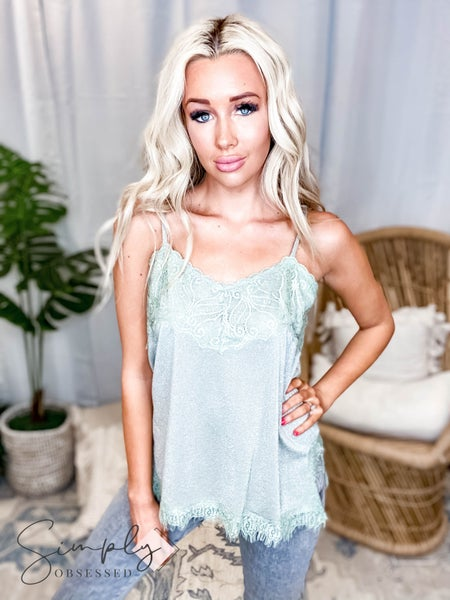 Vocal - Lace detail cami top