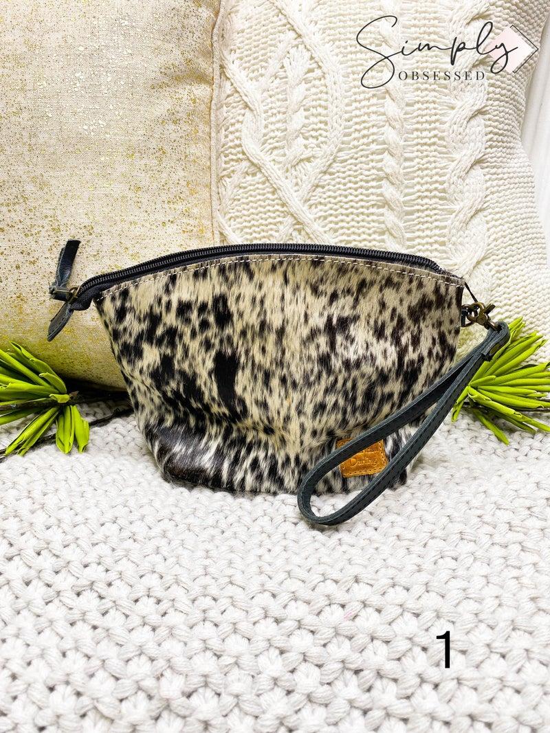 American Darling - Genuine leather small wristlet detail bag