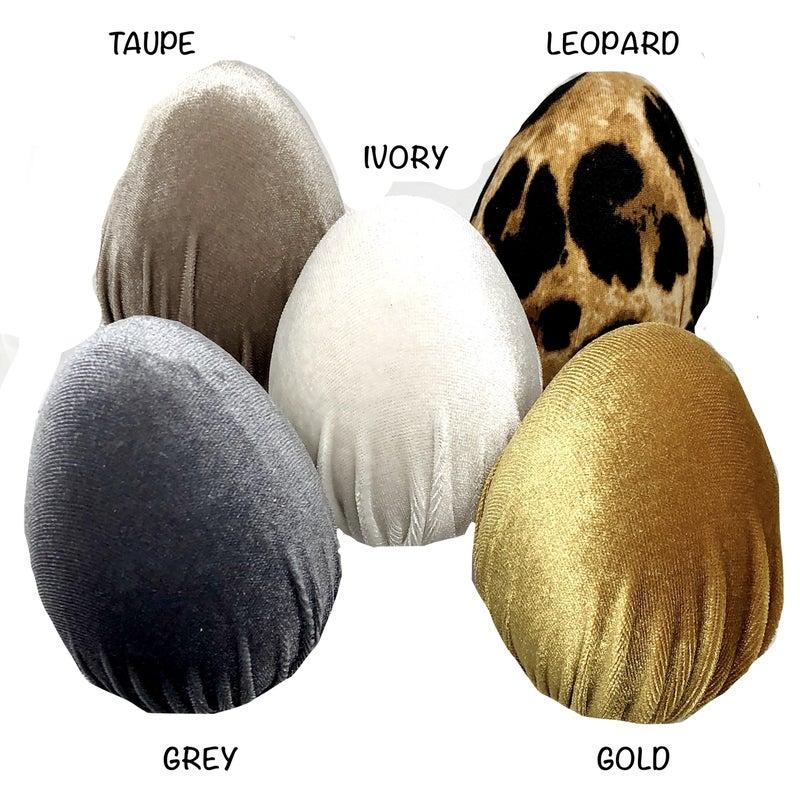 Easter Handmade Velvet Eggs Decor