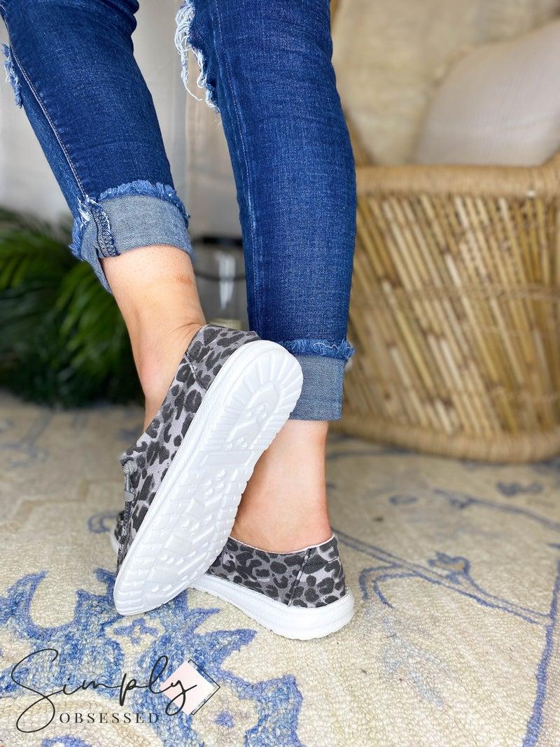Gypsy Jazz - Cheetah print tie up sneaker