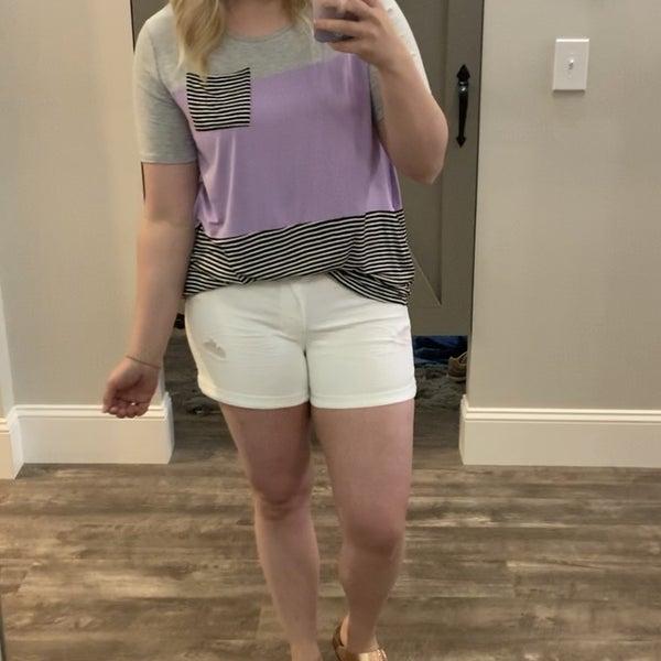 White  YMI Shorts *Final Sale*