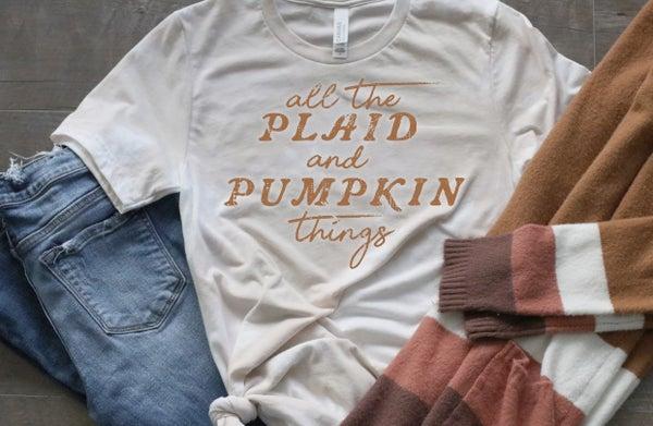 Plaid & Pumpkin Things