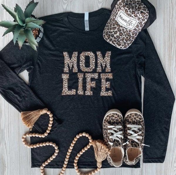 Mom Life Leopard Print