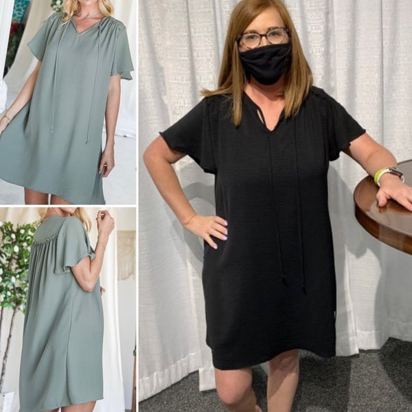 Thriving Life Dress - Black only!