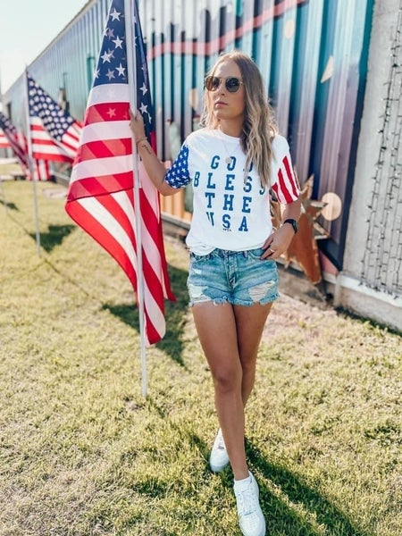 GOD BLESS THE USA TEE!