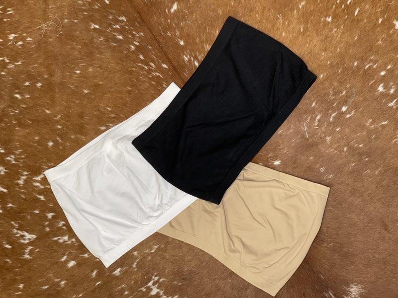Bandeau Basics Plus Size *3 Colors!*