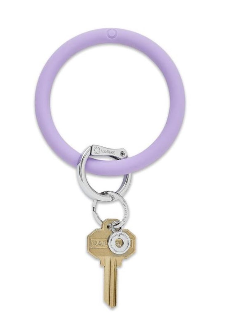 Silicone Big O Key Ring *In The Cabana*