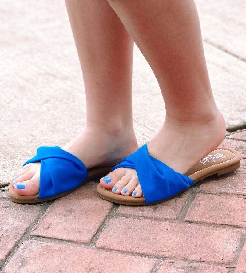 Corkys Lemonade Sandals - Blue