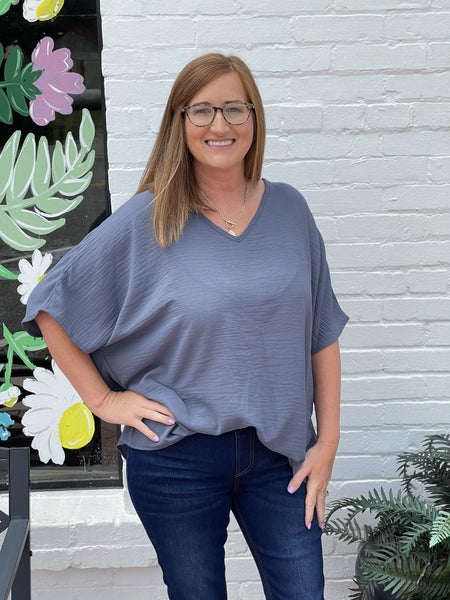 The Perfect Top-Grey