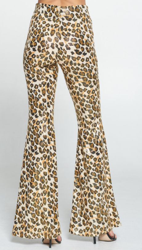 Adrienne High Waisted Celebration Leopard Pants! *Final Sale*