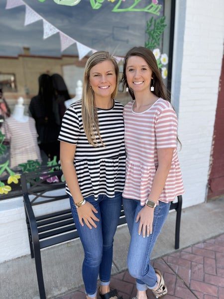 Striped Perfection Top *2 Colors*