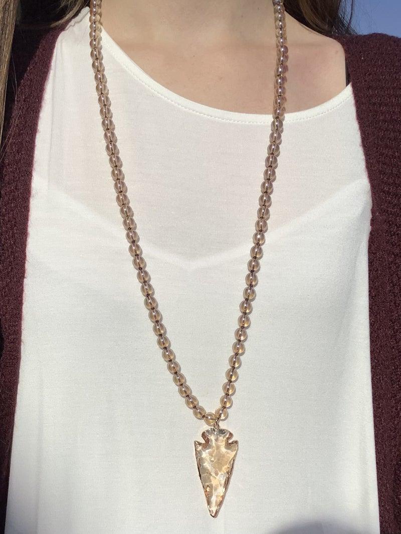 Arrowhead Necklace *2 colors*