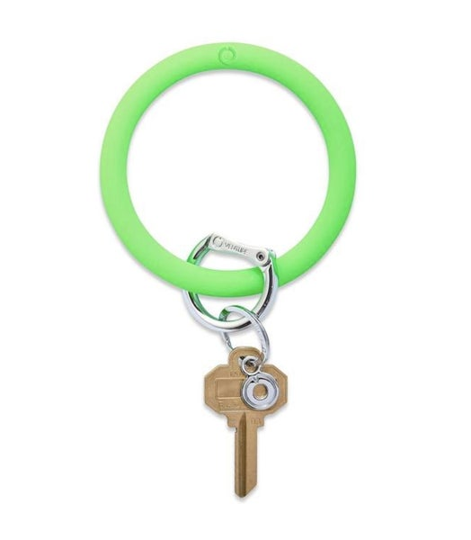 Silicone Big O Key Ring *In The Grass*