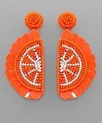 Orange Slices Earrings
